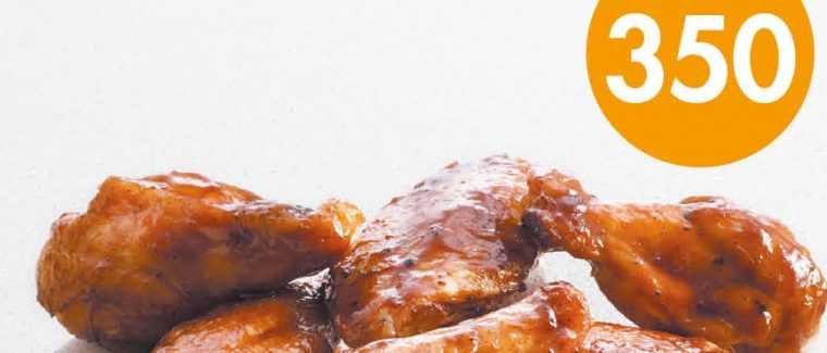 BBQ Sticky wings