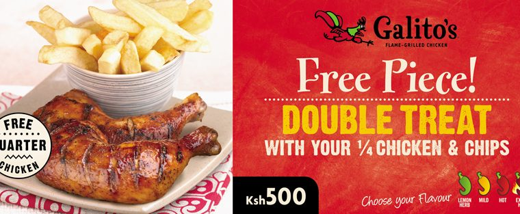 Galito's Double treat Offer